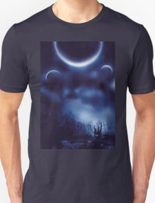 Fantastic Landscape With Planets T-Shirt