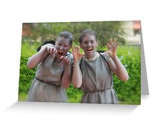 Weeping Angels Greeting Card