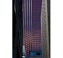 Temple of Blue - Toronto Office Building Photographic Print