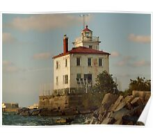 Headlands Lighthouse Poster