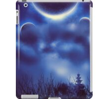 Fantastic Landscape With Planets 2 iPad Case/Skin