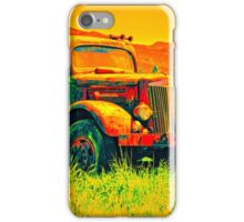 Travel To Oregon In Your Truck iPhone Case/Skin