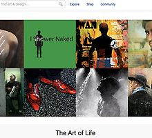 The Unusual Life of a Good Man - 3 January 2011 by The RedBubble Homepage