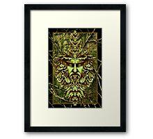 Greenman - by Nelson Pawlak © 2015 Framed Print