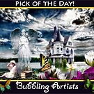 Pick of the Day (Bubbling Artists) by Nadya Johnson