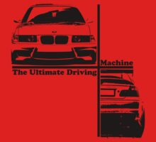 bmw e36 the ultimate driving machine One Piece - Short Sleeve