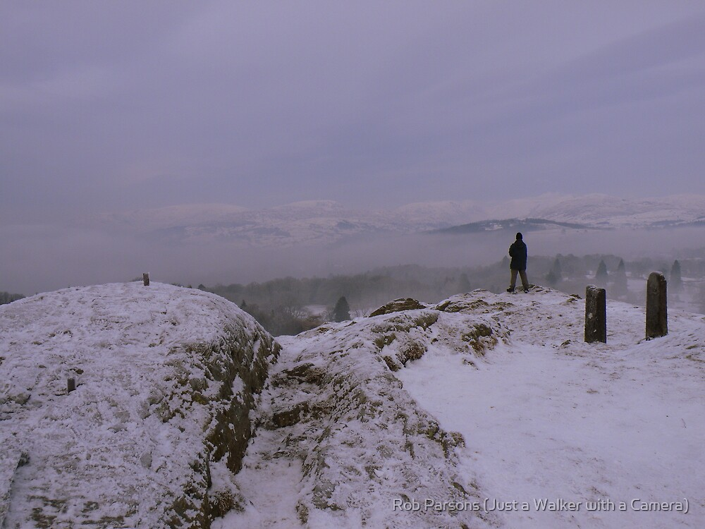 The Lake District: Winter on Post Knott by Rob Parsons