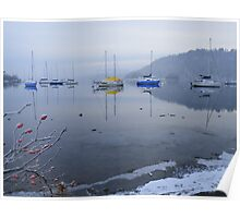 The Lake District: Completely Still on Windermere Poster