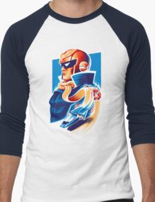Formula Zero Men's Baseball ¾ T-Shirt