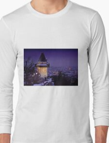 Sentinel of the sleeping city Long Sleeve T-Shirt