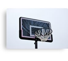 Basketball hoops. Canvas Print
