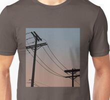 Power Lines: Dusk version Unisex T-Shirt