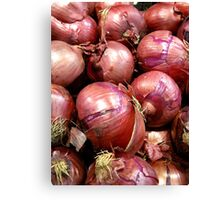 Know your Onions Canvas Print