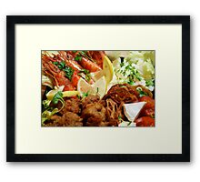 Osechi - Western Layer Framed Print