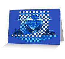 Chaos Emerald Greeting Card