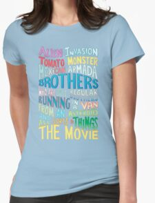 Rick and Morty Two Brothers Handlettered Quote Womens Fitted T-Shirt