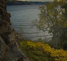 Urquhart Castle - Autumn, Dusk by Winksy