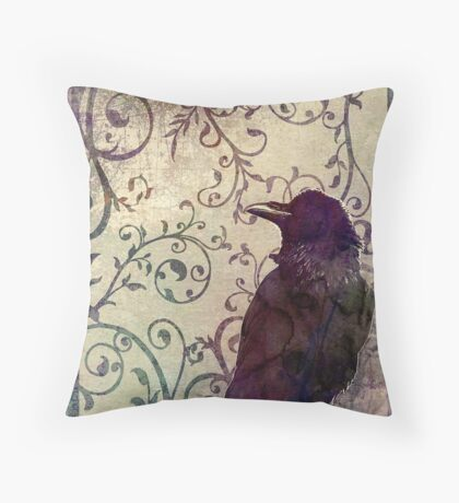 Odd Thoughts Surreal Artwork Throw Pillow