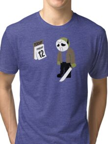 Friday The 13th Parody Tri-blend T-Shirt
