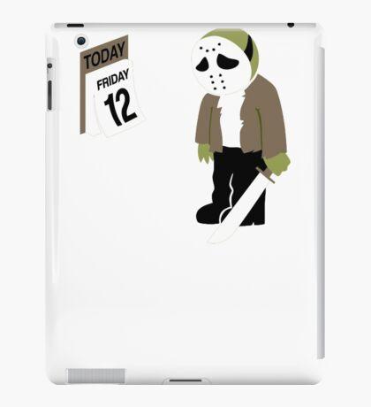 Friday The 13th Parody iPad Case/Skin
