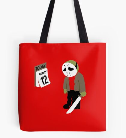 Friday The 13th Parody Tote Bag