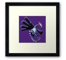 Dark Lugia Framed Print
