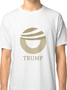 Donald Trump Obama Comb-over Logo Classic T-Shirt