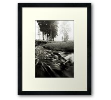 To Somewhere..Or Nowhere Framed Print