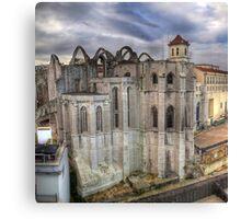 Convento do Carmo Canvas Print