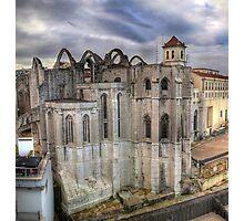 Convento do Carmo Photographic Print
