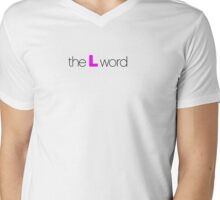 The L Word Mens V-Neck T-Shirt