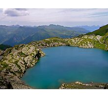 Swiss Mountain Lake Photographic Print