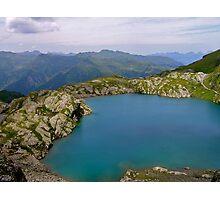 Swiss Mountain Lake Photographic Print