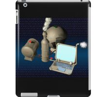 Steam punk computer iPad Case/Skin