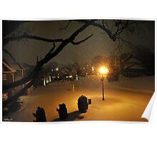 One Winter Night Poster