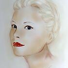 Portrait Grace Kelly by Trish Loader