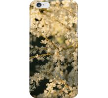 White Flowers in the Morning iPhone Case/Skin