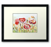 A Summer Dream Framed Print