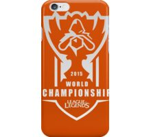 League of Legends World Championship 2015 HQ iPhone Case/Skin