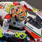 Valentino Rossi - Turn One Phillip Island 2007 by AdamReece