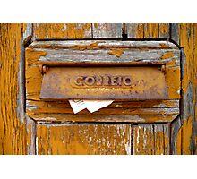Lisbon Letter Box Photographic Print