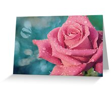 New Year's Rose Greeting Card