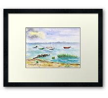 At the Baltic Sea Framed Print
