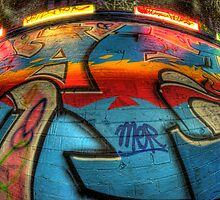 Graffiti Close Up by Guy Carpenter
