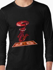 dolar1 rojo Long Sleeve T-Shirt