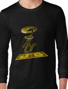 dolar1 amarillo Long Sleeve T-Shirt