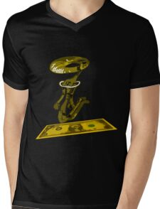 dolar1 amarillo Mens V-Neck T-Shirt