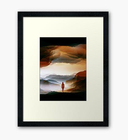 Quiet Heat Framed Print