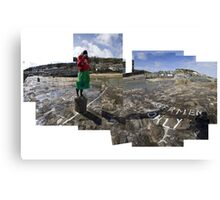 Photographing Mousehole with a Diana Camera Canvas Print