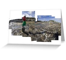 Photographing Mousehole with a Diana Camera Greeting Card